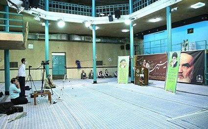 مراسم جشن غدیر در حسینیه جماران به صورت مجازی برگزار شد