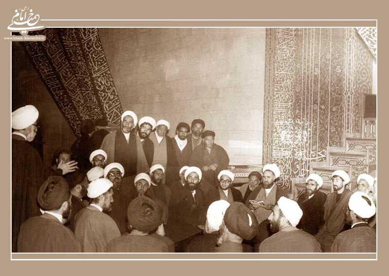 آخرین ملاقات حضرت امام در قم