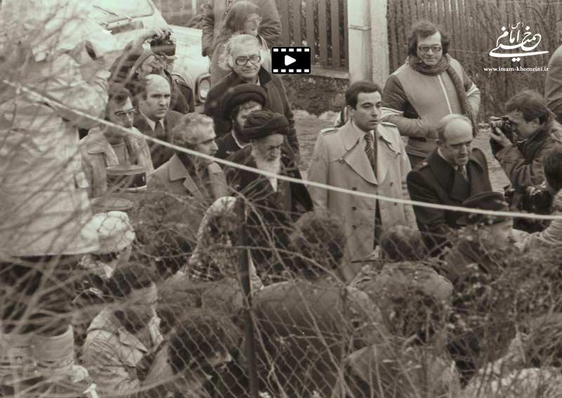 آخرین روزهای حضور رهبر کبیر انقلاب اسلامی حضرت امام خمینی(ره) در نوفل لوشاتو