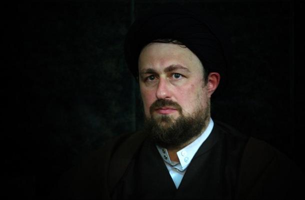 تسلیت سید حسن خمینی به مسعود آقا بزرگی
