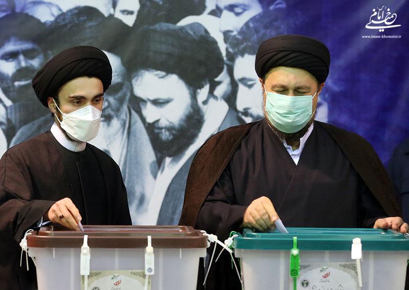 گزارش تصویری حضور یادگار امام در انتخابات ریاست جمهوری