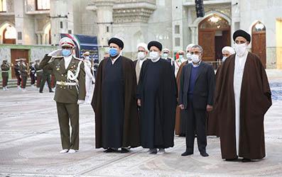 تجدید میثاق رئیس قوه قضاییه و مسئولان قضایی با آرمان های امام خمینی
