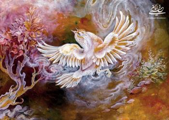 قدم نهادن بر بال فرشتگان