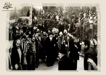 پیامی که خبر از بازگشت قریب الوقوع امام به ایران داد