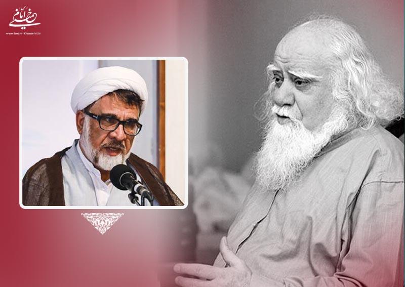 علامه حکیمی معتقد بود که حوزویان باید امام خمینی را اسوه و الگوی خود قرار دهند