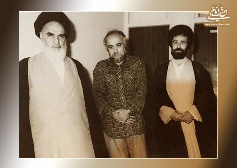 نامه امام خمینی به استاد محمدرضا حکیمی: اجانب مجال تفکر را از شما می گیرند