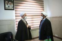 گزارش تصویری دیدار سرپرست موسسه تنظیم و نشر آثار امام خمینی با آیت الله اعرافی