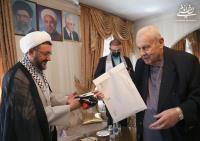 دیدار سرپرست موسسه تنظیم و نشر آثار امام خمینی(س) با سفیر فلسطین در تهران به روایت تصویر