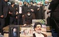 گزارش تصویری مراسم تشییع حجت الاسلام و المسلمین محتشمی پور در حسینیه جماران