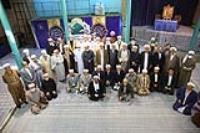 گزارش تصویری بازدید جمعی از امامان جمعه، روحانیون، علما و مدرسین حوزه های علمیه اهل تسنن از حسینیه جماران