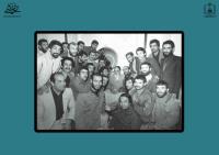 مطایبه امام خمینی با قهرمان وزنه برداری