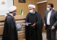 گزارش تصویری مراسم معارفه مدیر جدید دفتر نمایندگی موسسه در قم با حضور رییس محترم موسسه دکتر کمساری