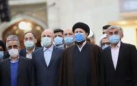 گزارش تصویری تجدید میثاق رئیس و نمایندگان مجلس شورای اسلامی با آرمان های امام خمینی