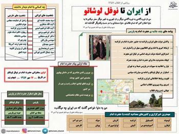 از ایران تا نوفل لوشاتو