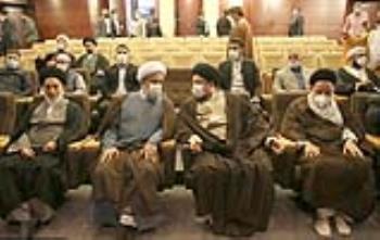 گزارش تصویری دیدار مهمانان سی و پنجمین کنفرانس وحدت اسلامی با سید حسن خمینی