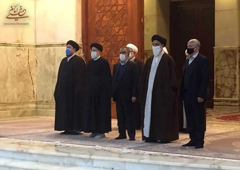رییسی در آیین تجدید میثاق با آرمان های امام راحل: قبل از نگرانی برای مشارکت مردم باید نگران کارآمدی نظام بود