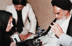 مصاحبه امام با خبرنگار مشهور ایتالیایی