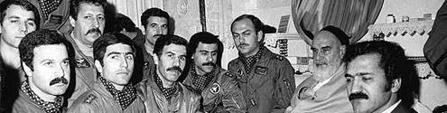دیدار خلبانان حمله به اچ3 با حضرت امام، سه روز پس از عملیات