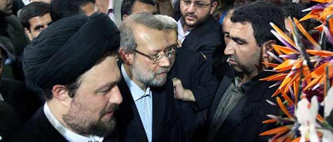 ادای احترام منتخبان مجلس نهم به مقام امام خمینی(س)