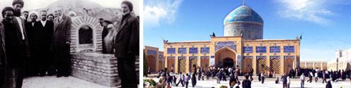 برگی از صحیفه/ بازسازی آرامگاه شهید مدرس به دستور امام