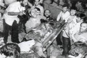 برگی از تاریخ / محکومیت اقدام منافقین در انفجار میدان توپخانه در پیام حضرت امام
