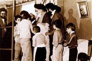 نامه صمیمانه دانش آموزان دبستانی به حضرت امام