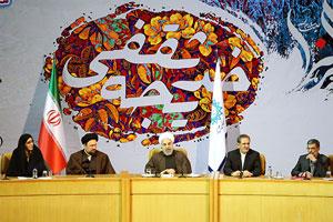 همایش بانوی انقلاب اسلامی با سخنرانی رئیس جمهور آغاز به کار کرد