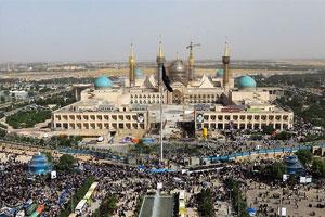افتتاح صحن اصلی حرم مطهر امام خمینی (س) همزمان با بیست و ششمین سالگرد رحلت بنیانگذار کبیر انقلاب