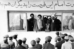 خاطره  رهبر معظم انقلاب از روز بیعت همافران با حضرت امام(س)