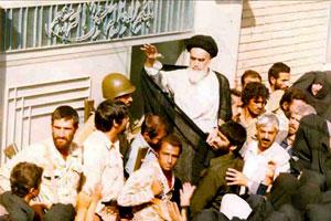 امام خمینی پس از بازگشت به قم کجا اقامت گزیدند