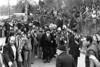 پیام تشکر امام خمینی (س) از دولت و ملت فرانسه پیش از بازگشت به ایران