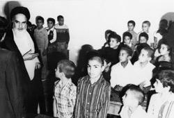 نامه محبت آمیز یک دانش آموز به امام