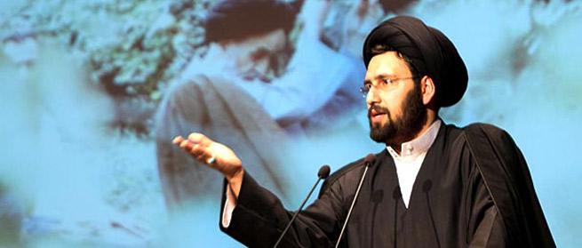 شعر سید علی خمینی درباره امام