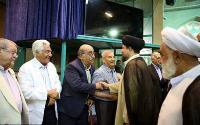 گزارش تصویری دیدار جمعی از پیشکسوتان ورزش کشور با یادگار حضرت امام