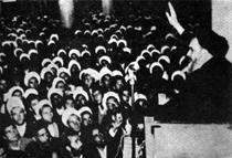 سخنرانی امام در روز 15 خرداد در مدرسه فیضیه