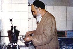 ساده زیستی امام