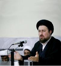 سید حسن خمینی در حوزه